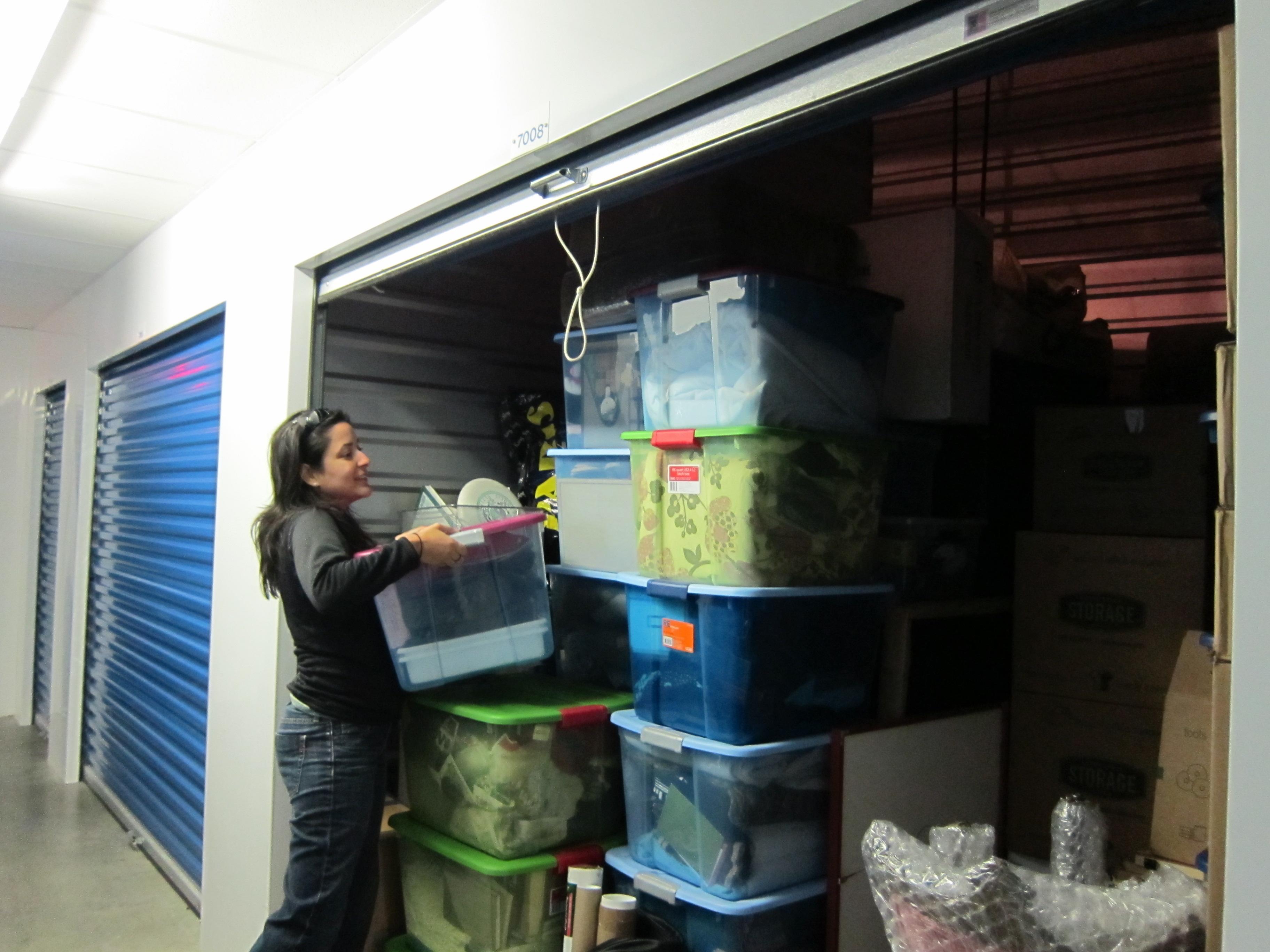 Sasha at Storage