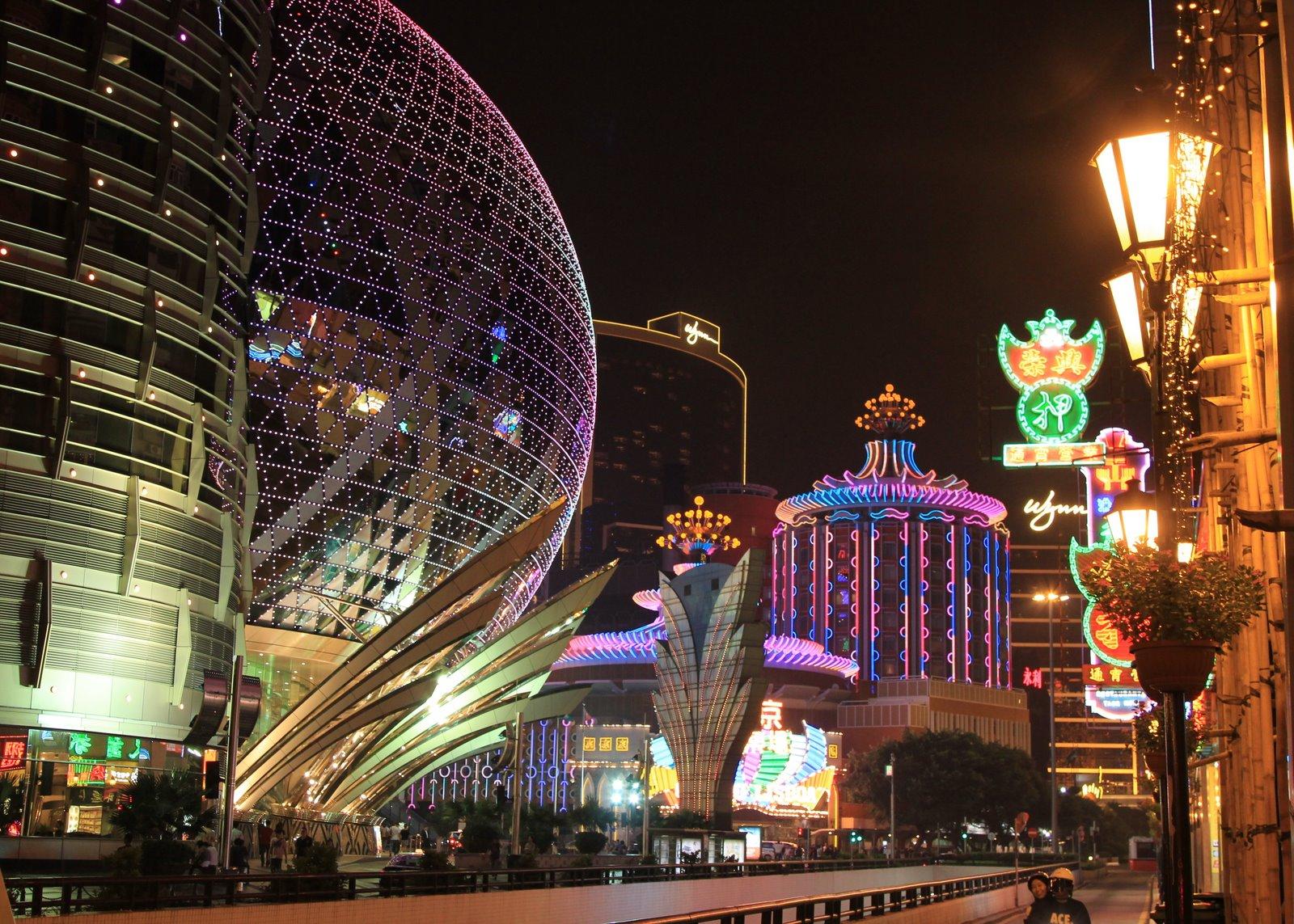 The Macau Strip.